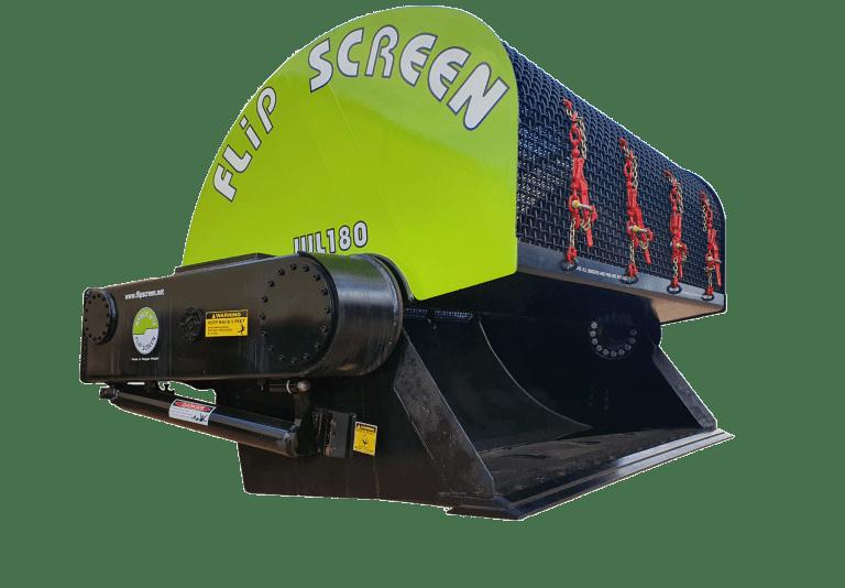 loader screening bucket